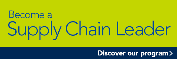 Become a Supply Chain Leader, Discover our program >